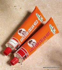 Goulash Cream - Hot and Mild (Tubes)